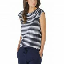 Mey dames Liv Shirt onder mouw 16817 night blue