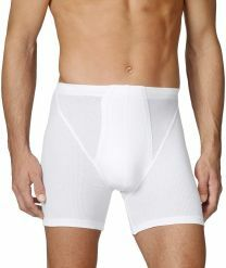 Calida Cotton 2:2 (Calida) boxer met lange pijpjes 20710 white