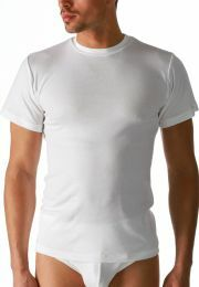 Mey heren Noblesse Olympia-shirt 1/2 arm 2803 wit