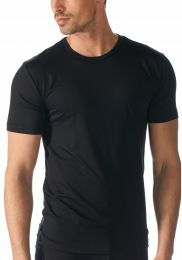 Mey network shirt met korte mouw 34202 black