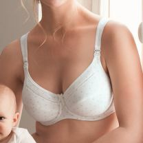 Anita Maternity Miss Cotton voedings bh met beugel 5056 pearl white