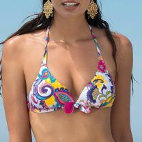 Antigel la new persane triangel bikini top eba2866 blanc