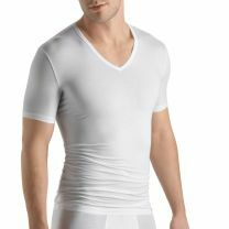 Hanro Men Cotton Sensation Shirt met korte mouw 073068 white