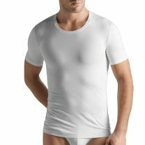 Hanro Men Cotton Superior Shirt met korte mouw 073088 white