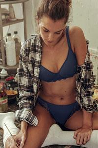 Simone Pérèle Caresse Bleu Abysse bh Lingerie ChillyHilversum